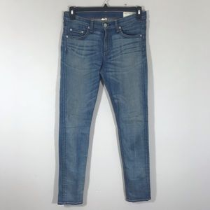 Rag & Bone distressed skinny jeans size 29